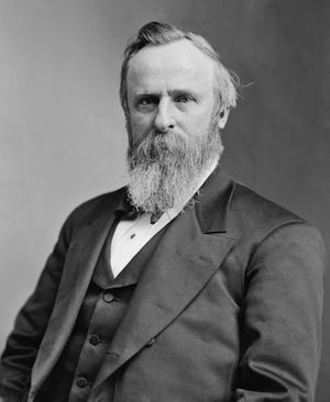 The 19th President of the United States, Rutherford B. Hayes, was a studious, good-natured man who enjoyed books more than politics. He also valued friendship tremendously.