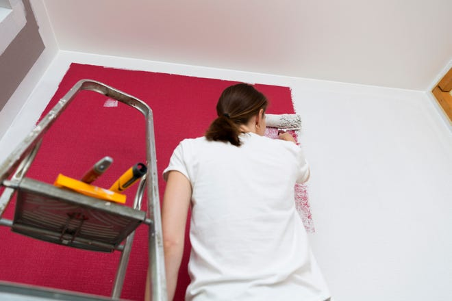 There's much more that goes into painting a wall than a paintbrush and paint. Here are some things to keep in mind.