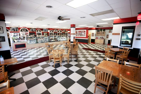 The expanded dining area is pictured at Gerry Frank's Konditorei in Salem, Oregon on Monday, June 22, 2020.