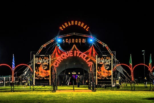 Paranormal Cirque will be in San Angelo June 25-28, 2020.