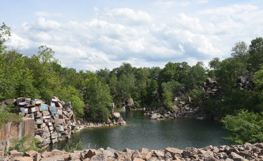 Beautiful quarry views are available at The Ledge Monday, June 22, 2020, in Waite Park.