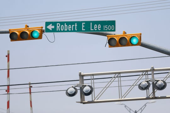 Robert E. Lee road Monday, June 22, in El Paso.