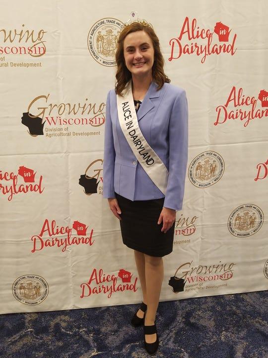 Julia Nunes was named 73rd Alice in Dairyland Saturday, June 20.