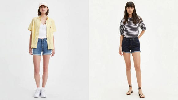 Celebrity Fashion: Levi's Shorts