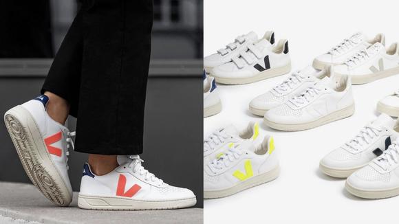 Celebrity Fashion: Veja sneakers.