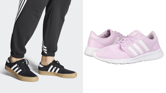 Celebrity Fashion: Adidas sneakers.