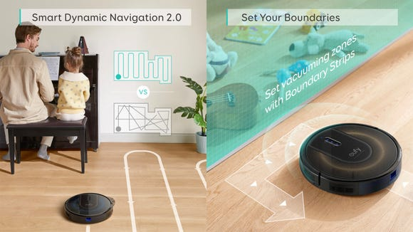 These smart robot vacuums really know their boundaries.