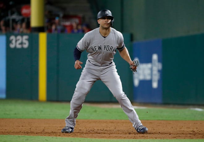 A healthy Giancarlo Stanton can make a big difference for the New York Yankees. TONY GUTIERREZ/AP