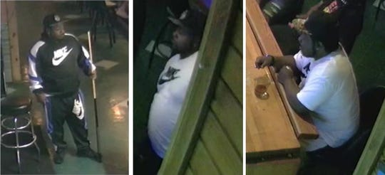 Neenah police released these photos of an unnamed man believed to be a person of interest in the fatal shooting of Adam Baith.