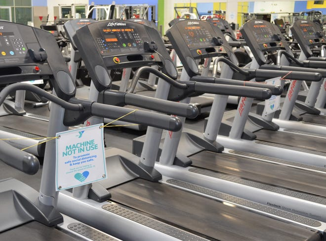 With new safety guidelines at the Battle Creek Family YMCA, some exercise machines will be shut down to force social distancing.
