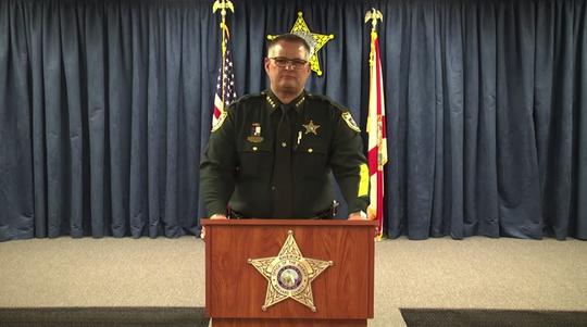 Brevard County Sheriff Wayne Ivey.