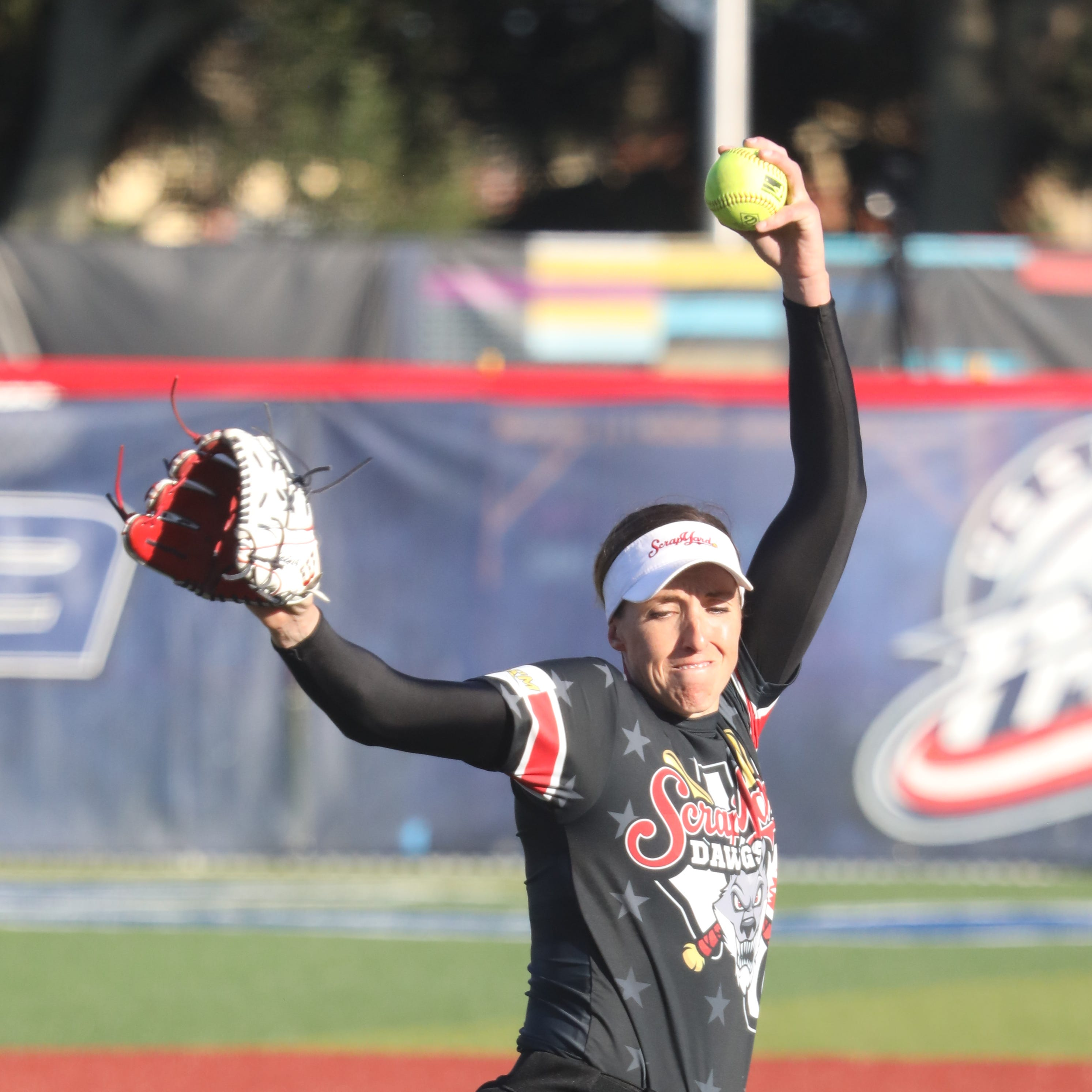 Return of pro softball from COVID-19 a big hit for Olympic star ...