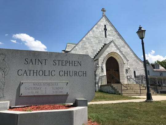 St. Stephen Catholic Church, located on Barlow St. in Winooski, on June 23, 2020. The church is expected to close its doors on July 1 after serving its congregation for 150 years.