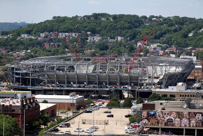 FC Cincinnati's stadium in June.