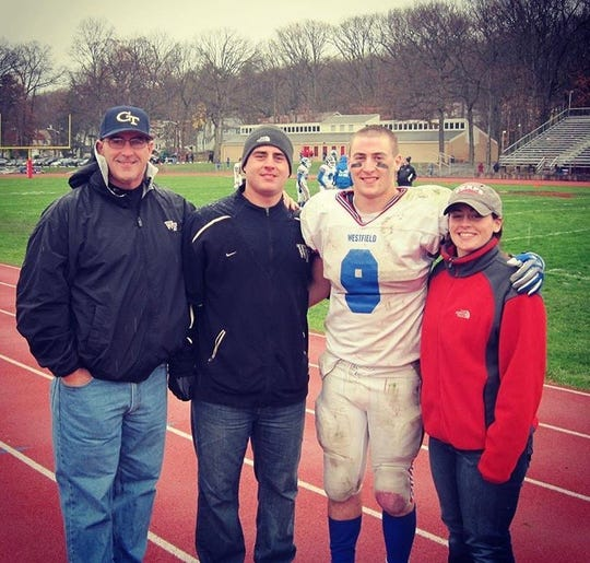 From left to right: Mike Murray Sr., Mike Murray Jr., AJ Murray and Brittany Murray.