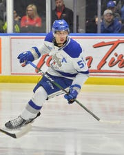 Quinton Byfield, a forward for the Sudbury Wolves and a top prospect in the 2020 NHL entry draft.