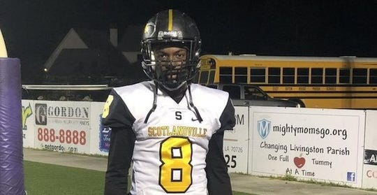 Baton Rouge (La.) Scotlandville defensive back Jah'Von Grigsby.