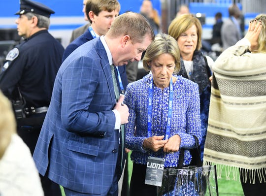 Sheila Ford Hamp is the new principal owner of the Lions.
