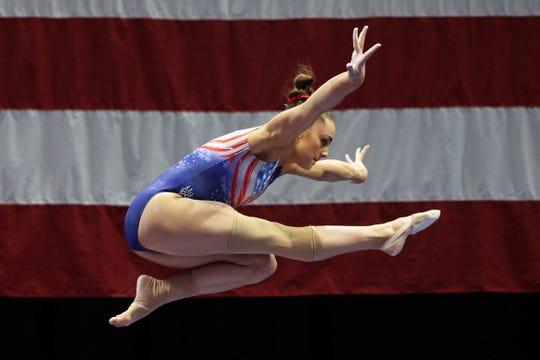 """Maggie Nichols in """"Athlete A."""""""