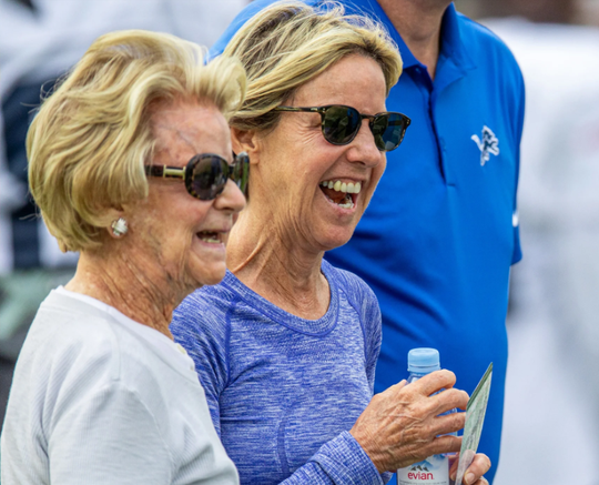 Sheila Ford Hamp is taking over as Lions owner from her mother, Martha Firestone Ford.