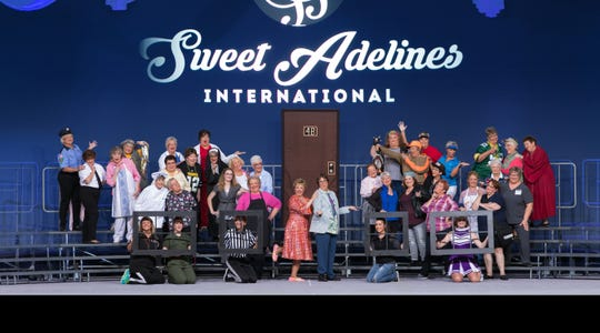 Fox Valley Chorus of Sweet Adelines was first-place regional medalists and competed in International Competition in New Orleans (pictured) last fall.