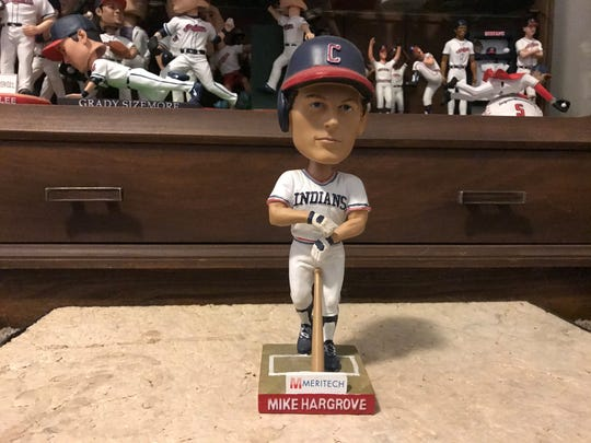 In 2011, the Cleveland Indians only handed out one stadium bobblehead giveaway which was a Mike Hargrove.
