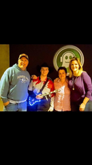 Andrew Bushey, 20, of Shiloh, will be at the Springmill Drive-In Saturday night for the Garth Brooks' concert on the big screen at Springmill Drive-In. He and his mother Angie Bushey met Garth Brooks and his wife Trisha Yearwood at a concert in this photo. Submitted photo