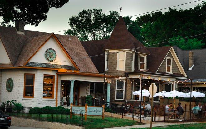Restaurante Iris en el centro de Memphis.
