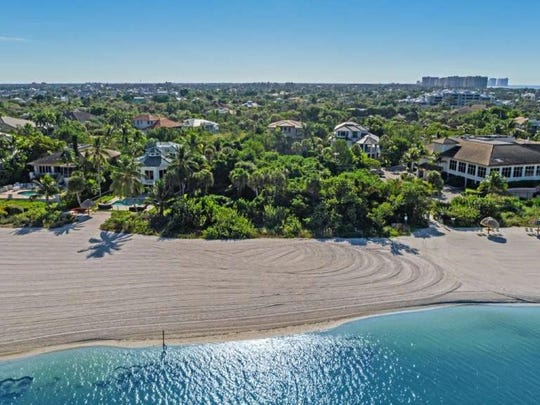 This beachfrontlot on Hideaway Beach, Marco Island sold for $5.5 million on June 2020.