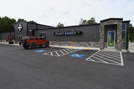 Medical marijuana dispensary Plant Family Therapeutics opened their doors shortly before the coronavirus pandemic struck. The new business continues to do well, according to executive director Michael Lunsford.