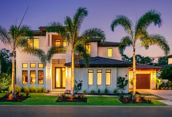 The Wellington is the newest London Bay Homes model in Mediterra.