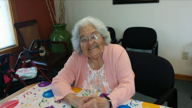 "Socorro Cuellar, also known as ""Grandma Coco,"" celebrated her 100th birthday June 16, 2020."