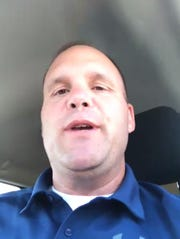 A screenshot of Jasen Witt taken during the virtual meeting of the Redford Union school board meeting June 22. Witt, the assistant superintendent of human resources and labor relations for the Redford Union School District, will lead the district as its interim superintendent beginning July 1 after current superintendent Sarena Shivers leaves at the end of June.
