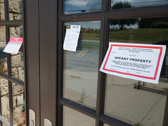 Notices from the city of Livonia appear to note that Livonia's Macaroni Grill has closed for good.