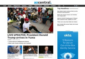 The new azcentral.com has been redesigned to create a more streamlined experience for  readers.
