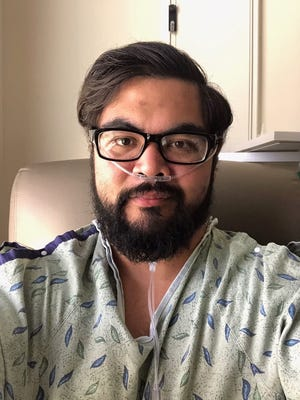 Jimmy Flores tested positive for COVID-19 and was admitted to Banner Baywood Medical Center in Mesa on June 15 after drinking at a bar in north Scottsdale with his friends. Flores was discharged from the hospital on June 22.
