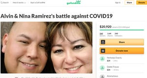 A GoFundMe page has been set up for the family of Alvin Ramirez, the Avondale detention officer who died after testing positive for COVID-19.