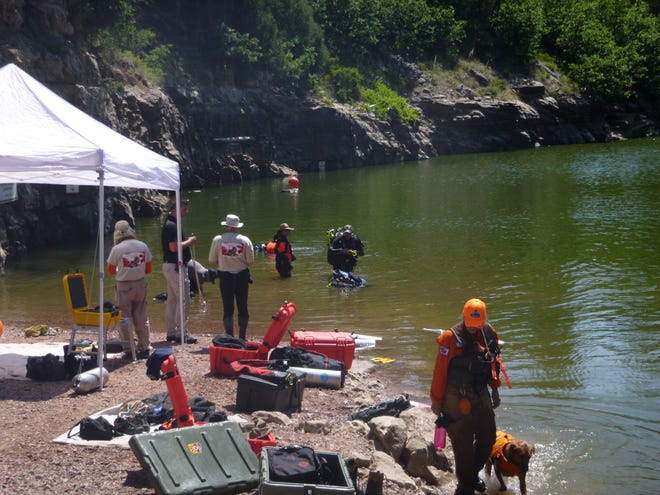 A Payson man drowned at the Blue Ridge Reservoir Sunday evening. Searchers found his body Monday morning.