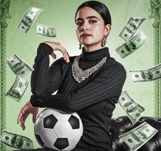 """Paulina Gaitán interpreta a """"Nené"""" en """"El Presidente""""."""