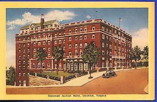 Stonewall Jackson Hotel in Staunton