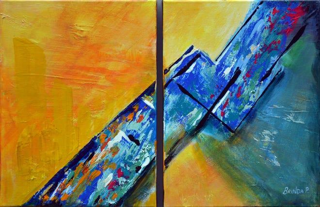 Up for bid at Artopia on June 26: Speed By Brinda Pumulapati.