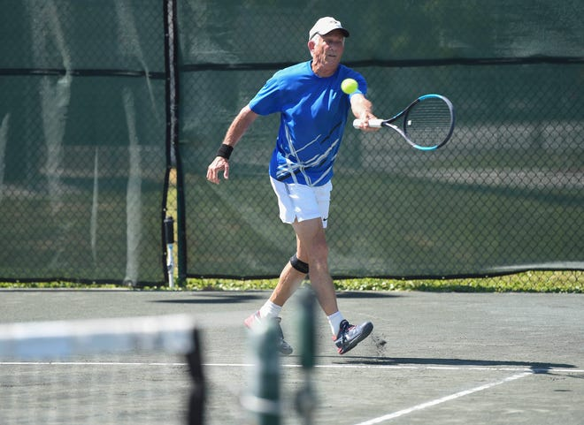 A victory for seniors. The clay tennis courts at Friendship Park in Sebastian are preferred by senior players because they are easier on the knee, hip, foot and back joints than asphalt or concrete courts. After a review by the Parks and Recreation Advisory Committee meeting, the committee recommended to the city council to keep the court surface clay at Friendship Park.