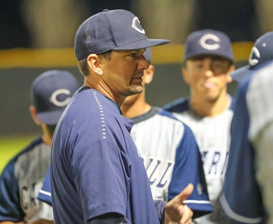 John Gonzalez has resigned as Camarillo High's head baseball coach but he will continue to teach at the school.