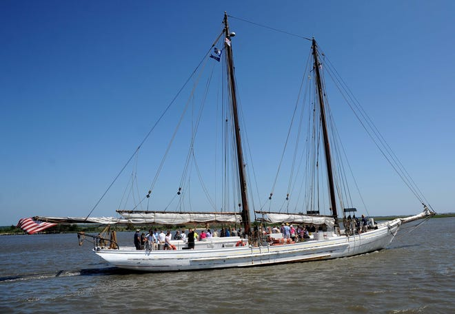 The AJ Meerwald, an authentically restored 1928 oyster schoonerand New Jersey's Official Tall Ship, will once again set sail from the Bayshore Center at Bivalve at 2800 High St., in Port Norris. Tickets are now available for sails which will begin on July 9.