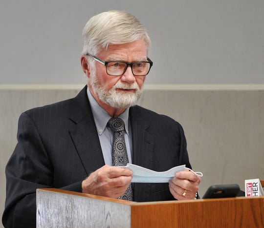 Wichita County Judge, Woody Gossom made an appeal, Monday, for the public to take personal responsibility to reduce the spread of the COVID-19 virus by wearing masks, hand sanitizing, and social distancing.