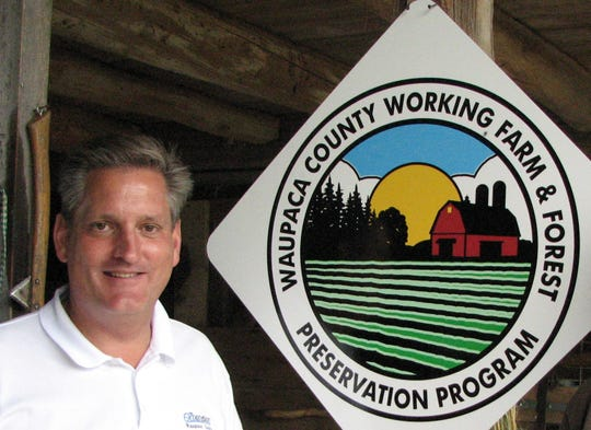 Greg Blonde was active in helping local landowners preserve land from commercial and residential development through the local conservation easement donation program.