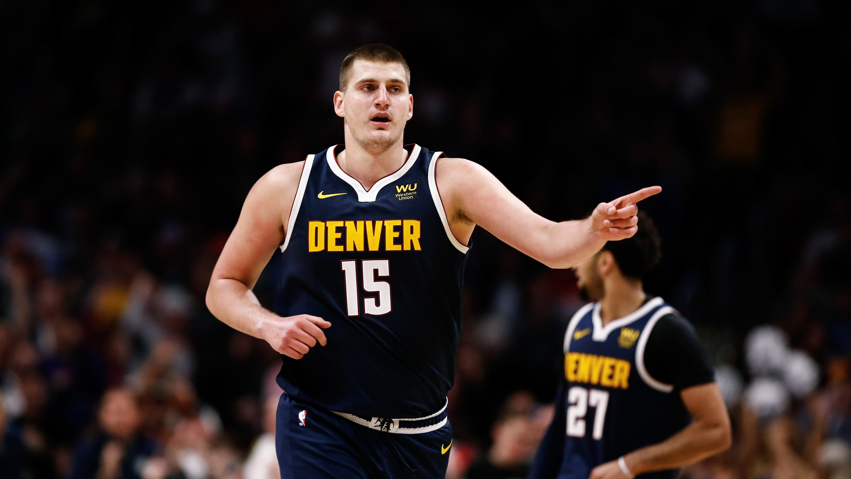 Denver Nuggets star Nikola Jokic among NBA players to test positive for COVID-19 - USA TODAY thumbnail