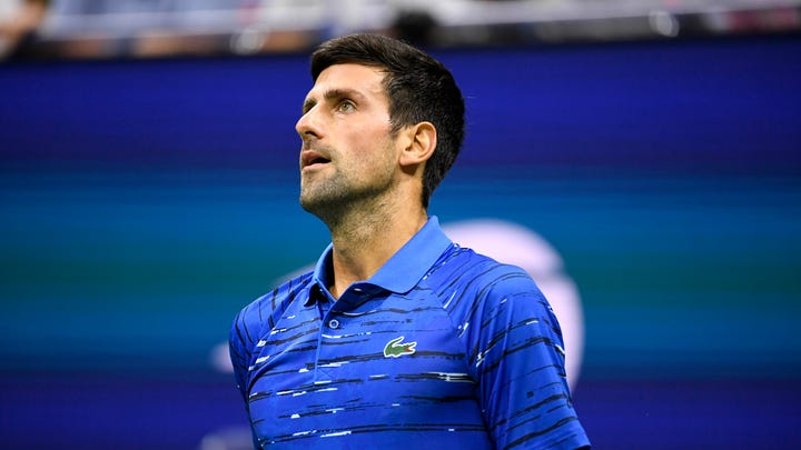 Novak Djokovic tested positive for the coronavirus on Tuesday after taking part in a tennis exhibition series.