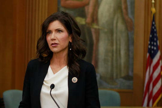 South Dakota Gov. Kristi Noem says she will be sending $200 million in federal coronavirus relief funds to city and county governments, but warned the economic impact of the pandemic could last for years.