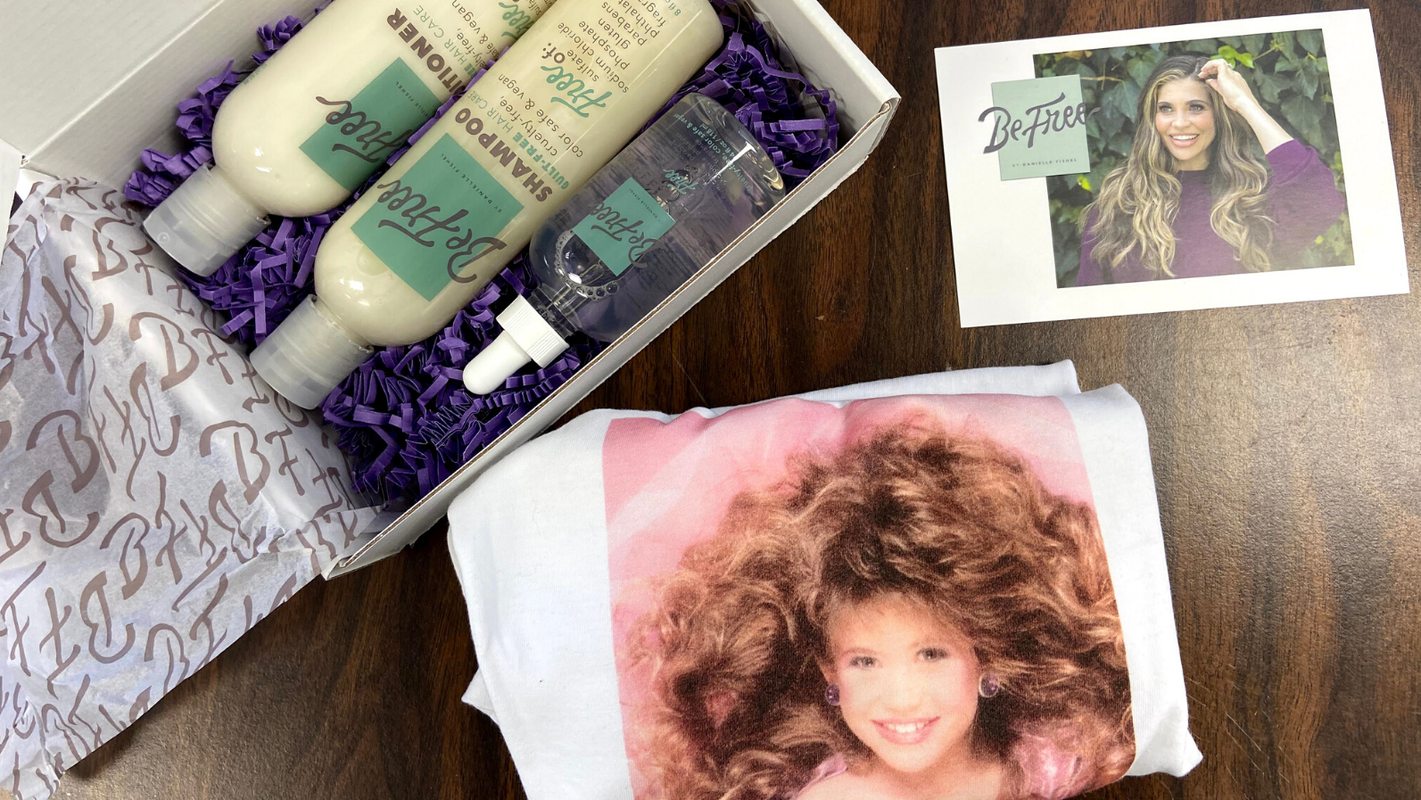 Be Free by Danielle Fishel: Get this this popular haircare on sale